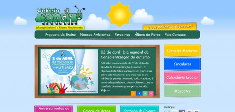 Novo site do Colégio Ecologia