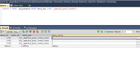 SQL Yog - Tabela wp_postmeta